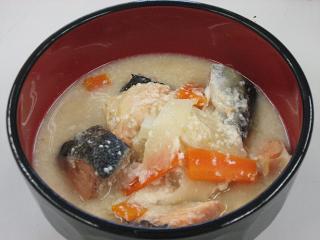 新巻鮭の粕汁