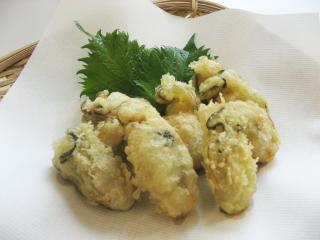 かきの天ぷら