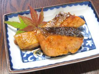 秋鮭の照焼き