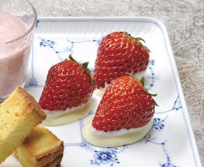 苺のホワイトチョコ