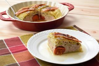 炊飯器で作るロールキャベツ(キャベツケーキ)