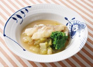 白菜とたらのオーブン煮